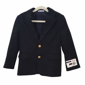 Izod Blazer Sport Coat Navy Boy's size 6